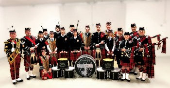 1st Revolution Pipes Drums 2018